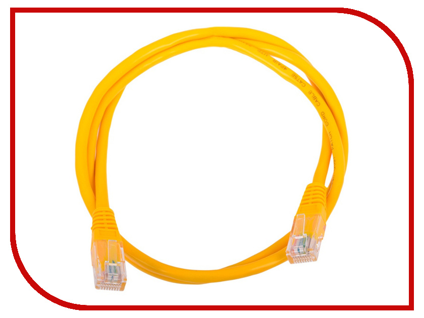 Купить Сетевой кабель AOpen UTP cat.5e ANP511 0.5m Yellow ANP511_0.5M_Y
