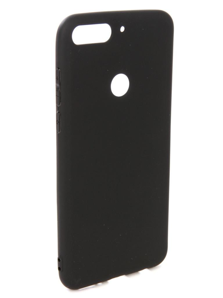 аксессуар чехол pero для xiaomi mi max 2 soft touch black prstc mmax21b Аксессуар Чехол Pero для Honor 7C Soft Touch Black PRSTC-H7CB