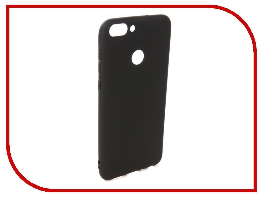 Купить Аксессуар Чехол для Huawei P Smart Pero Soft Touch Black PRSTC-HPSMB