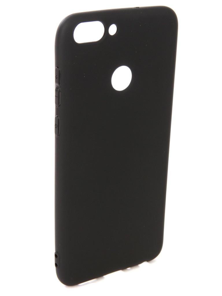 аксессуар чехол pero для xiaomi mi max 2 soft touch black prstc mmax21b Аксессуар Чехол Pero для Huawei P Smart Soft Touch Black PRSTC-HPSMB
