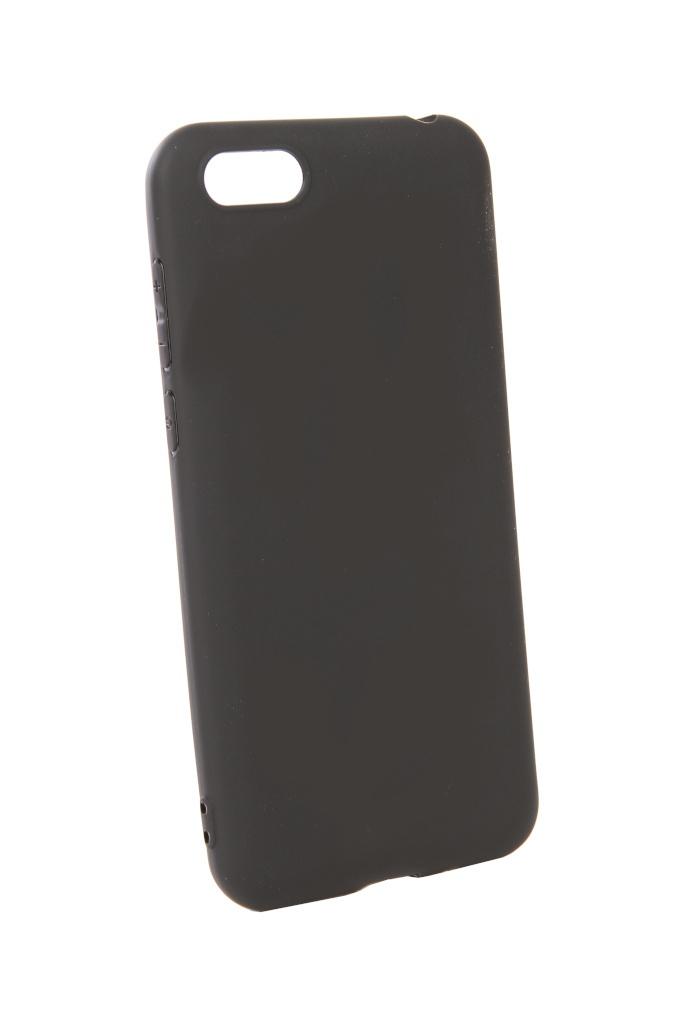 аксессуар чехол pero для xiaomi mi max 2 soft touch black prstc mmax21b Аксессуар Чехол Pero для Huawei Y5 2018 Soft Touch Black PRSTC-Y518B