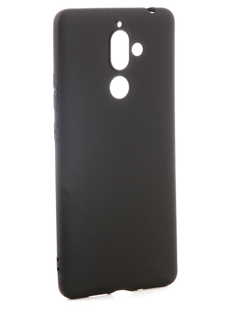 аксессуар чехол pero для xiaomi mi max 2 soft touch black prstc mmax21b Аксессуар Чехол Pero для Nokia 7 Plus Soft Touch Black PRSTC-N7PB