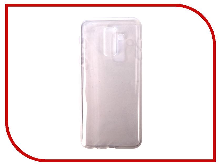 Купить Аксессуар Чехол для Samsung Galaxy A6 Plus Pero Silicone Transparent PRSLC-A6PTR