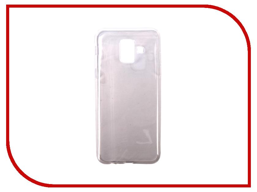 Купить Аксессуар Чехол для Samsung Galaxy A6 Pero Silicone Transparent PRSLC-A6TR
