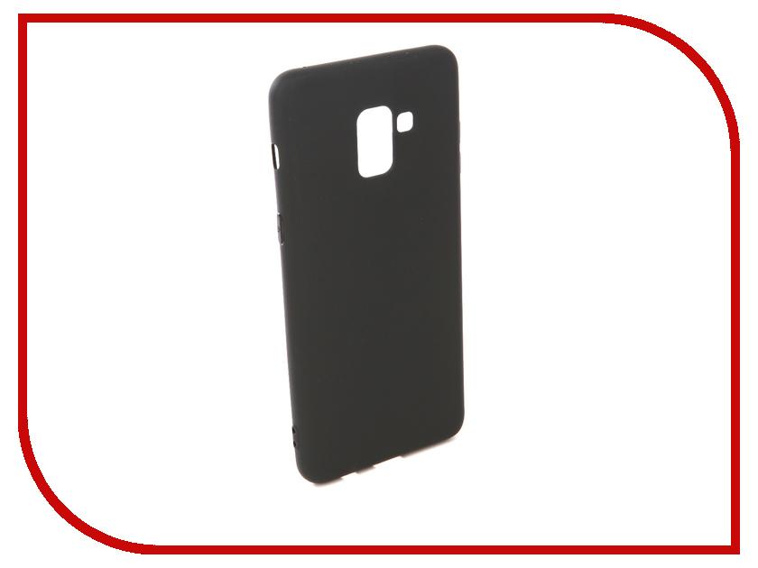 Купить Аксессуар Чехол для Samsung Galaxy A8 Pero Soft Touch Black PRSTC-A8B