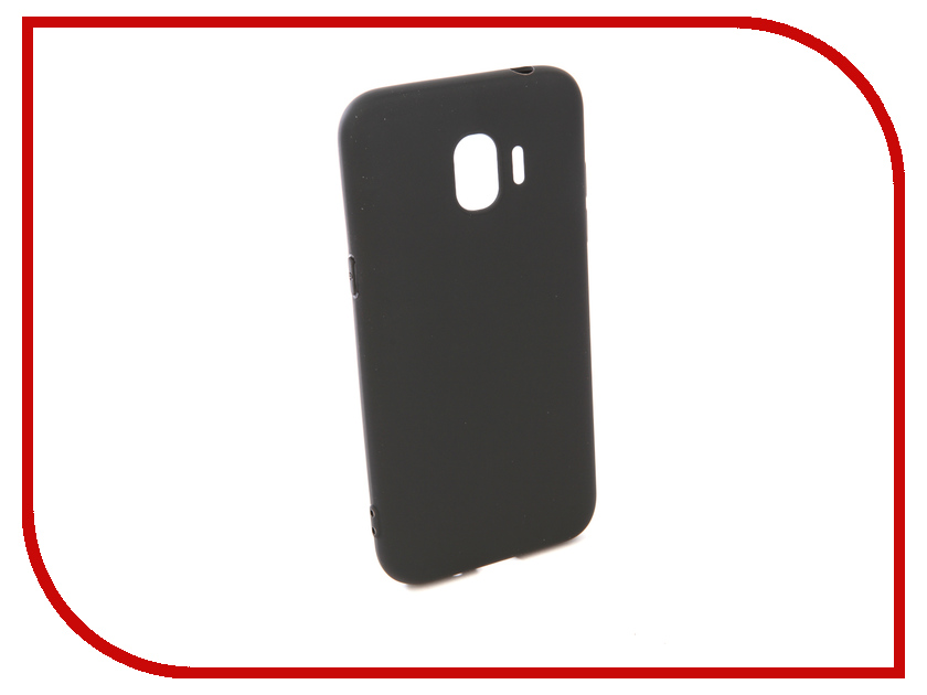 Купить Аксессуар Чехол для Samsung Galaxy J2 2018 Pero Soft Touch Black PRSTC-J218B