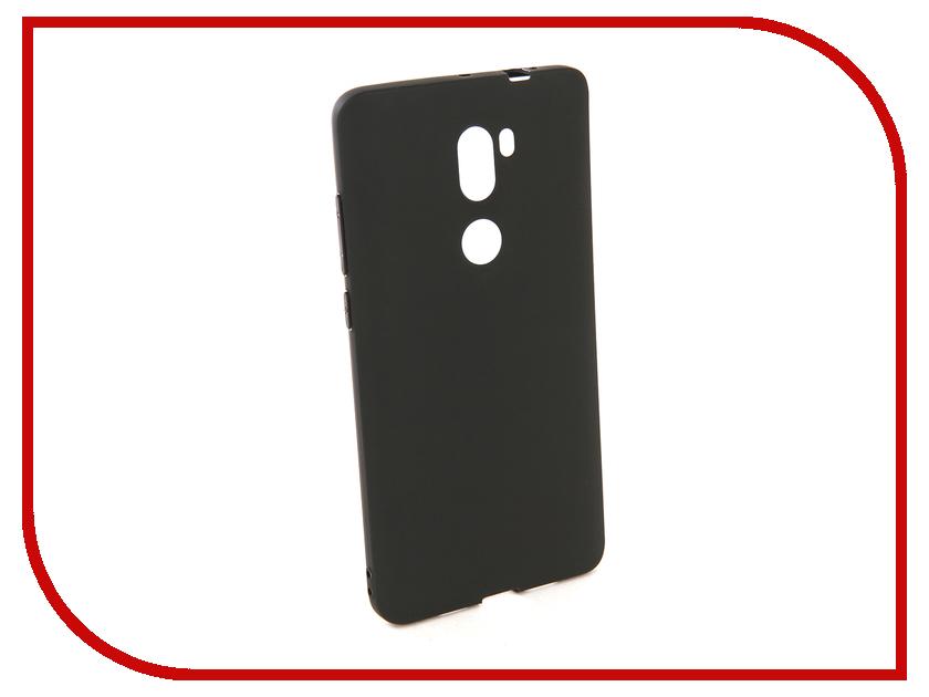 Купить Аксессуар Чехол для Xiaomi Redmi MI 5S Plus Pero Soft Touch Black PRSTC-RMI5SPB