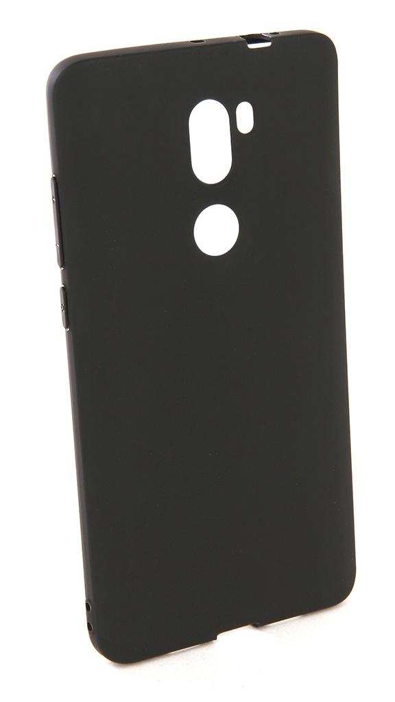 аксессуар чехол pero для xiaomi mi max 2 soft touch black prstc mmax21b Аксессуар Чехол Pero для Xiaomi Redmi MI 5S Plus Soft Touch Black PRSTC-RMI5SPB
