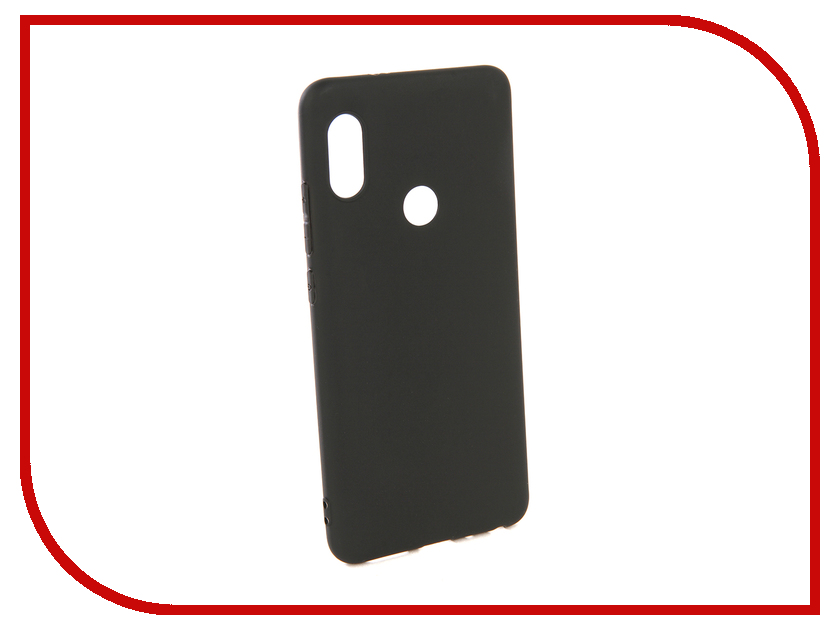Купить Аксессуар Чехол Pero для Xiaomi Redmi Note 5 Pro Soft Touch Black PRSTC-RN5PB