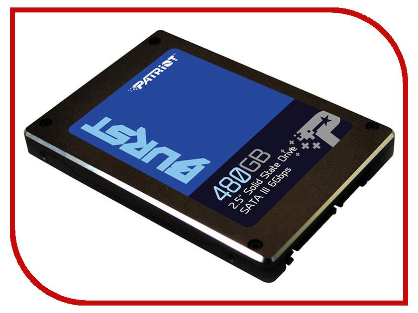 Купить Жесткий диск 480Gb - Patriot Memory Patriot Burst PBU480GS25SSDR