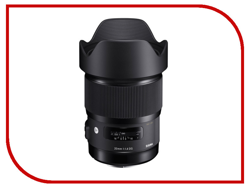 izmeritelplus.ru: Объектив Sigma 20mm f/1.4 DG HSM Art Sony E