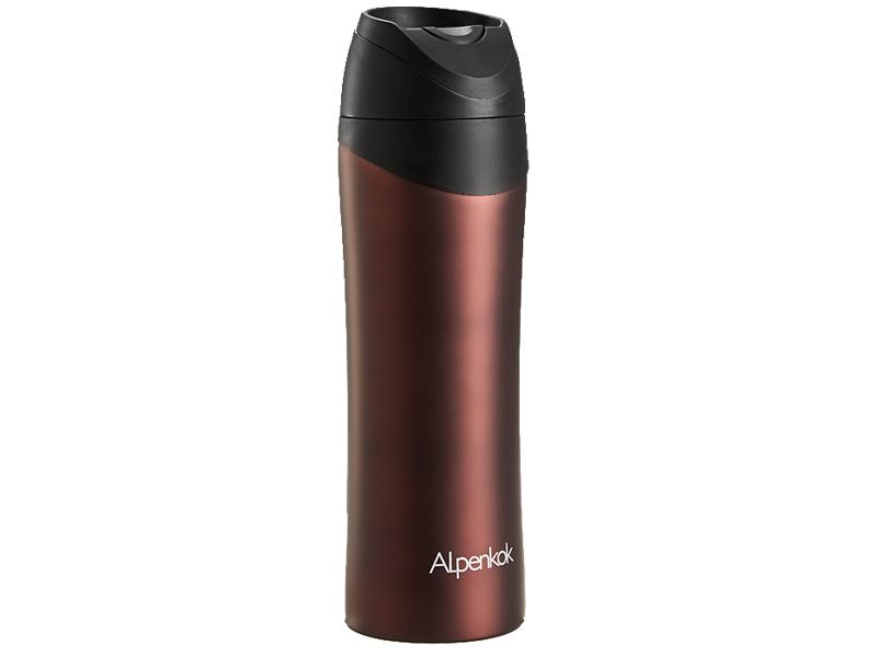 Термокружка Alpenkok 480ml Brown AK-04802A недорого