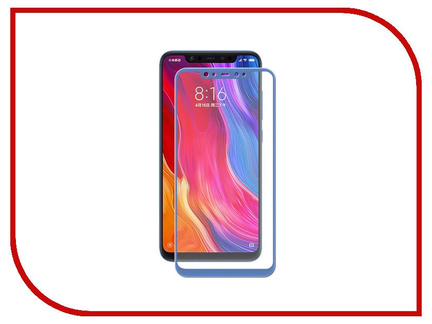 Купить Аксессуар Защитное стекло для Xiaomi Mi8 Neypo Full Screen Glass Blue Frame NFG4708