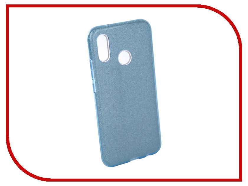 Купить Аксессуар Чехол для Huawei P20 Lite Neypo Brilliant Silicone Light Blue Crystals NBRL4496