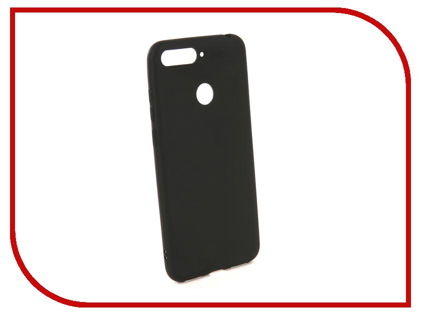 Купить Аксессуар Чехол для Honor 7A Pro / Honor 7C / Y6 Prime 2018 Zibelino Soft Matte Black ZSM-HUA-7A-PRO-BLK