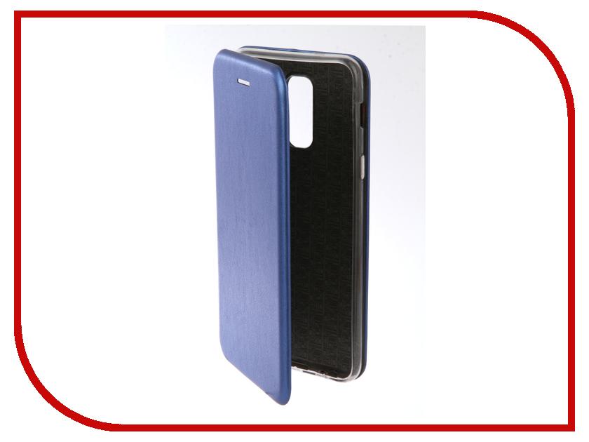 Купить Аксессуар Чехол для Samsung Galaxy A6 Plus 2018 Neypo Premium Blue NSB4526