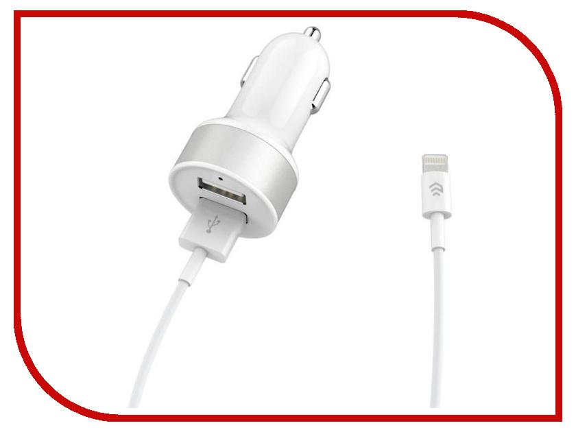 Купить Зарядное устройство Devia Smart Dual USB Car Charger Lightning 26071