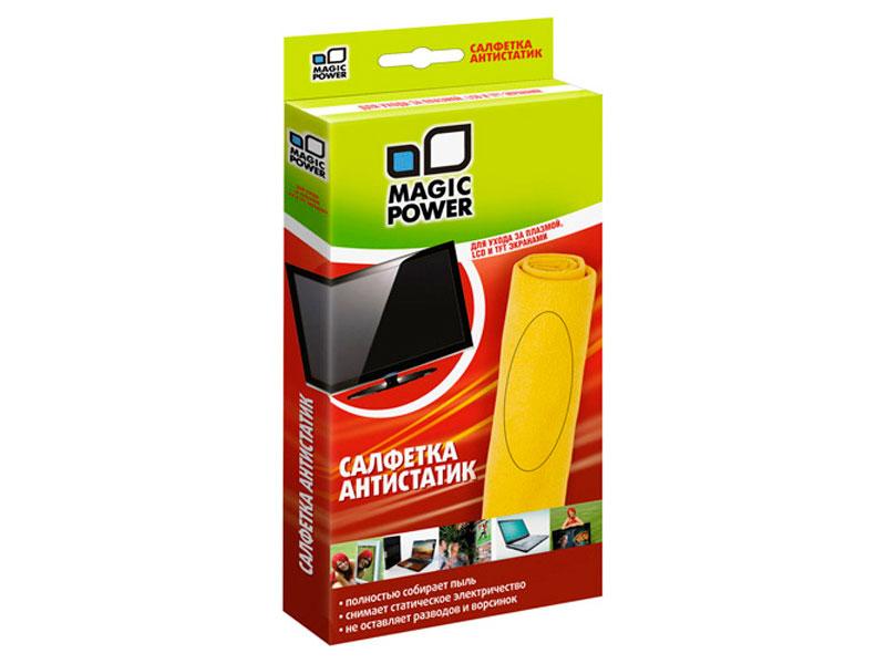 Микрофибровая салфетка Magic Power MP-504 для ухода за плазмой и LCD  - купить со скидкой