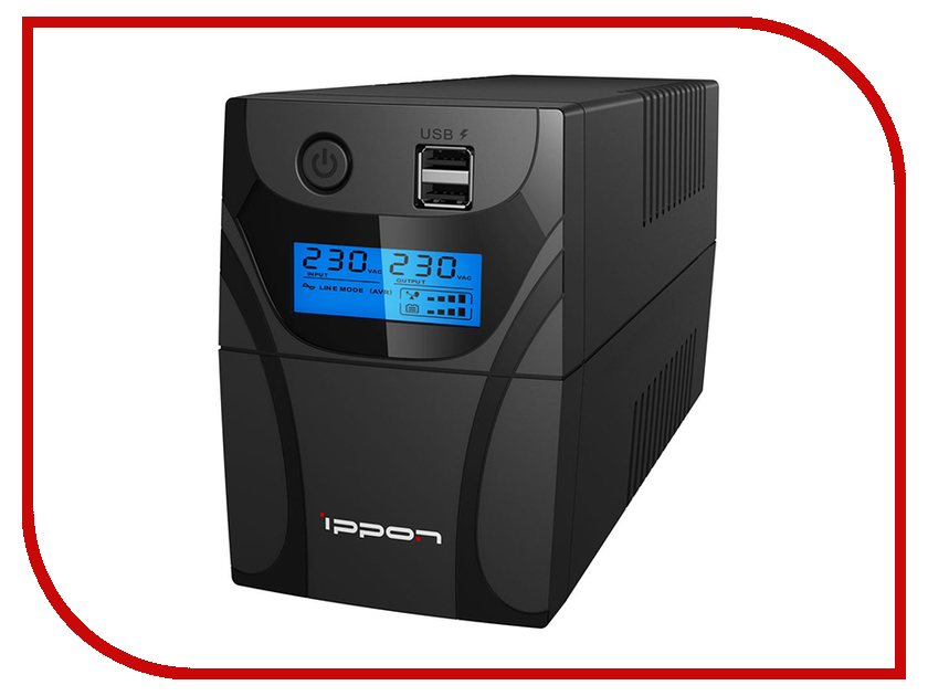 Купить Источник бесперебойного питания Ippon Back Power Pro II 700