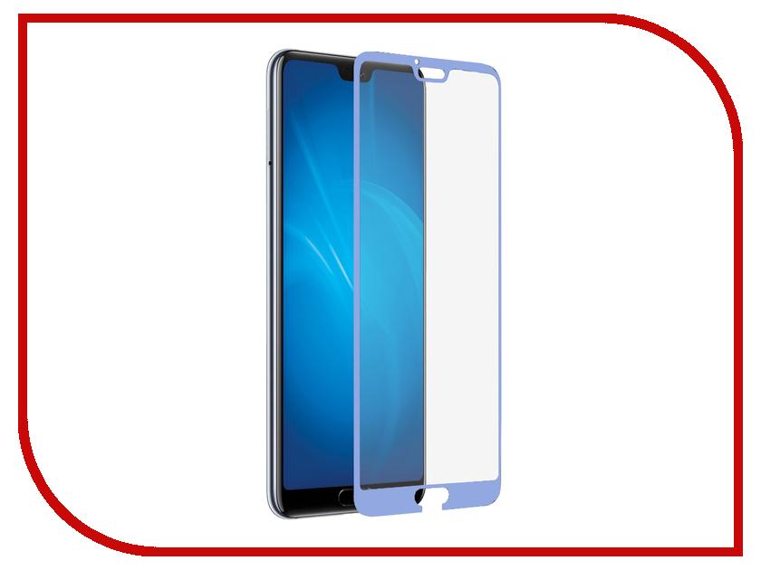 Купить Аксессуар Защитное стекло для Honor 10 / 10 Premium DF Full Screen 3D Blue hwColor-59, DF-GROUP