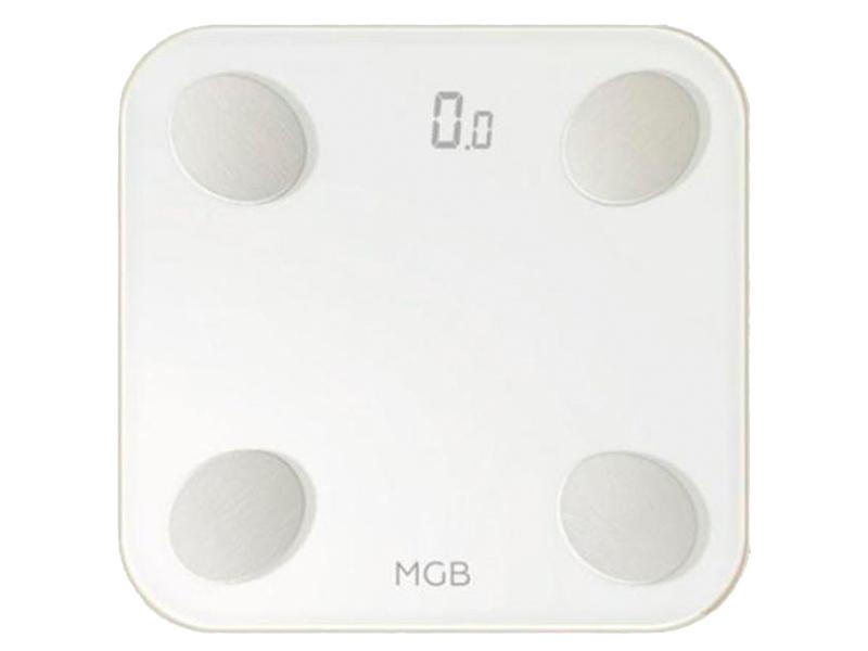 Весы напольные MGB Body fat scale Glass Edition White F19 BW