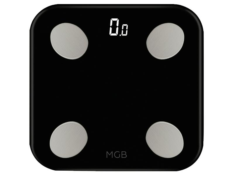Весы напольные MGB Body fat scale Glass Edition Black F19 BB
