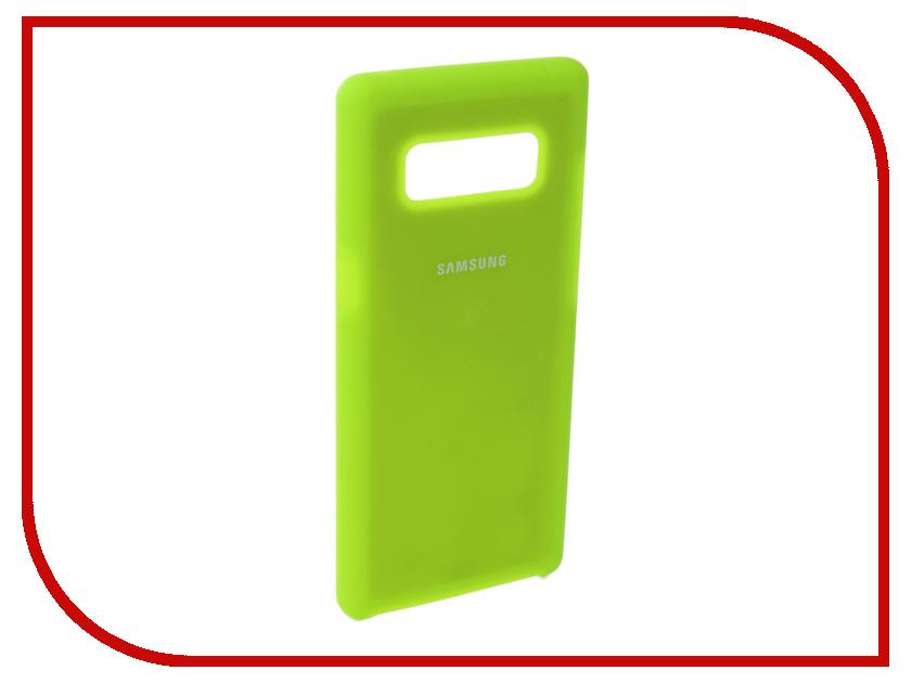 Купить Аксессуар Чехол Innovation для Samsung Galaxy Note 8 Silicone Yellow 10707