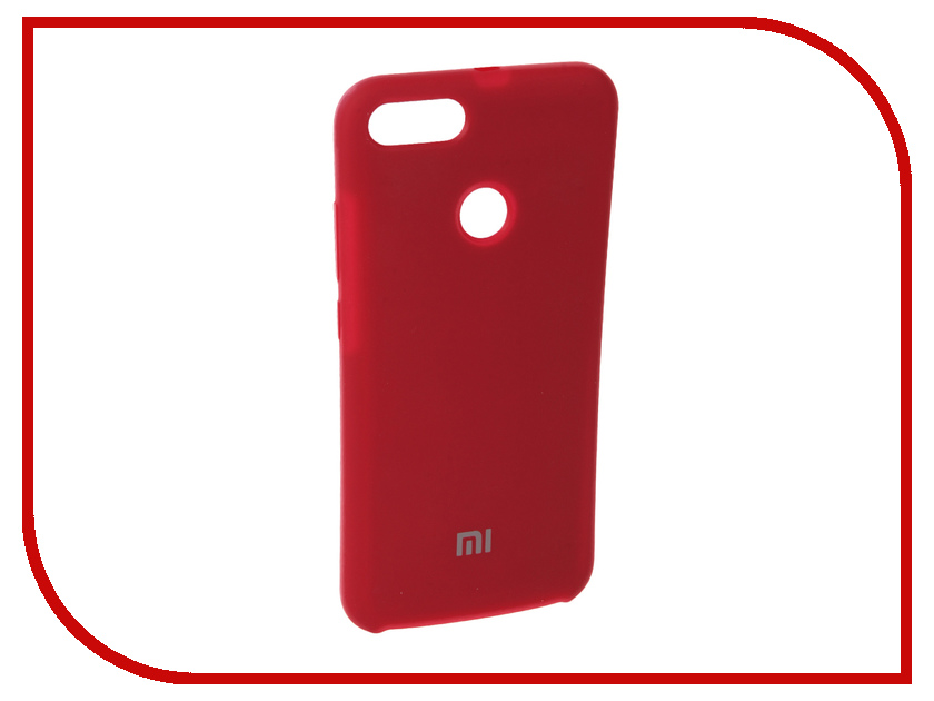 Купить Аксессуар Чехол для Xiaomi Mi A1 Innovation Silicone Red 11894