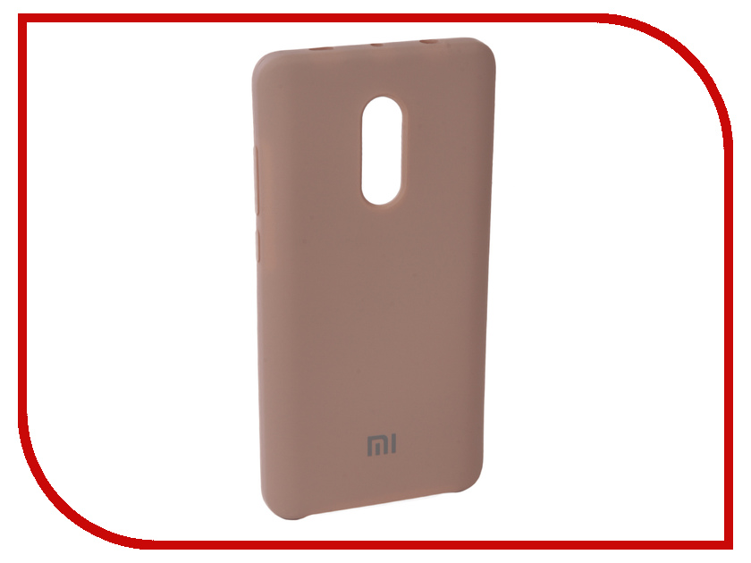 Купить Аксессуар Чехол Innovation для Xiaomi Redmi Note 4X Silicone Pink 10728