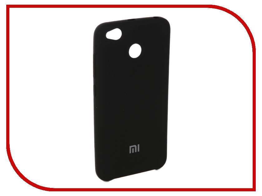 Купить Аксессуар Чехол для Xiaomi Redmi 4X Innovation Silicone Black 10722
