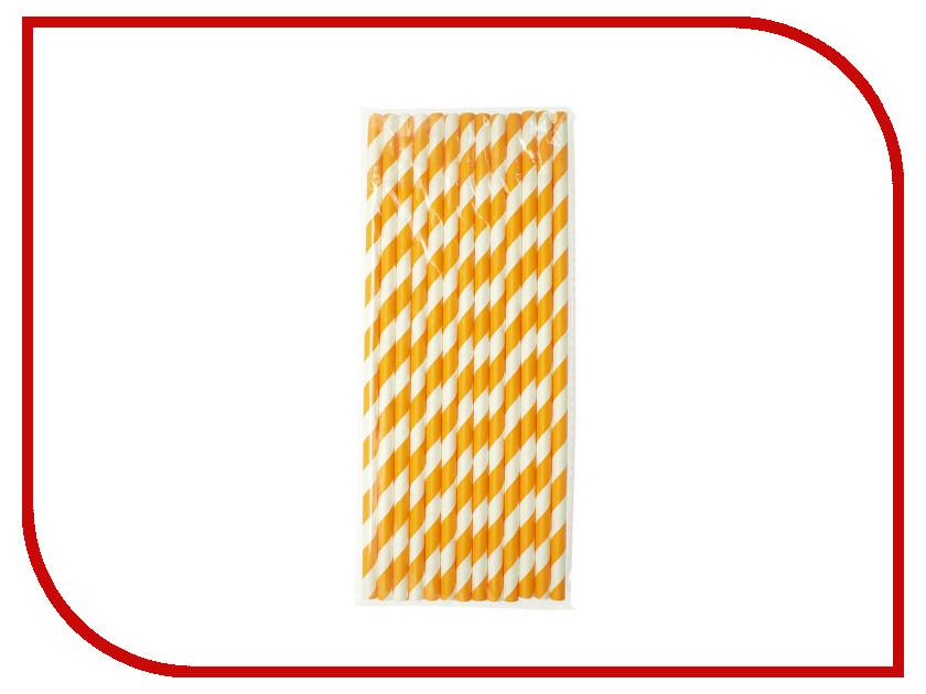 Купить Трубочки Ecovilka Апельсиновый фреш 195x6mm 25шт БТА1956