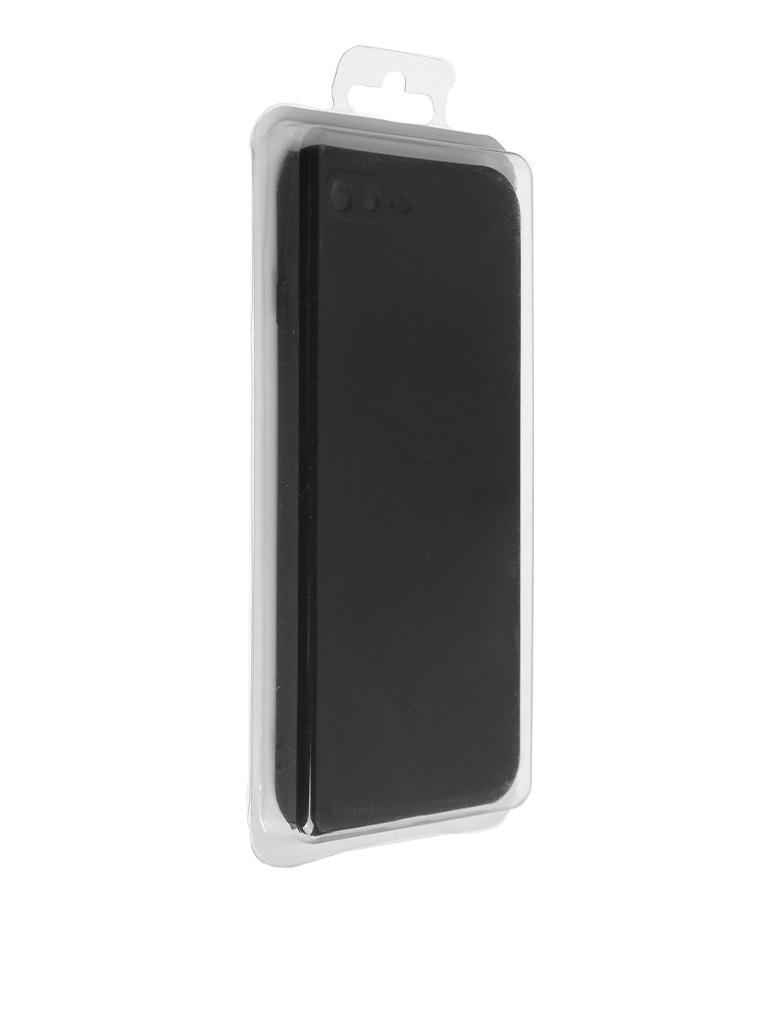 Чехол Innovation для APPLE iPhone 7 Plus/8 Plus Silicone Black 10279 аксессуар чехол neypo soft touch для apple iphone 8 plus 7 plus black st02111
