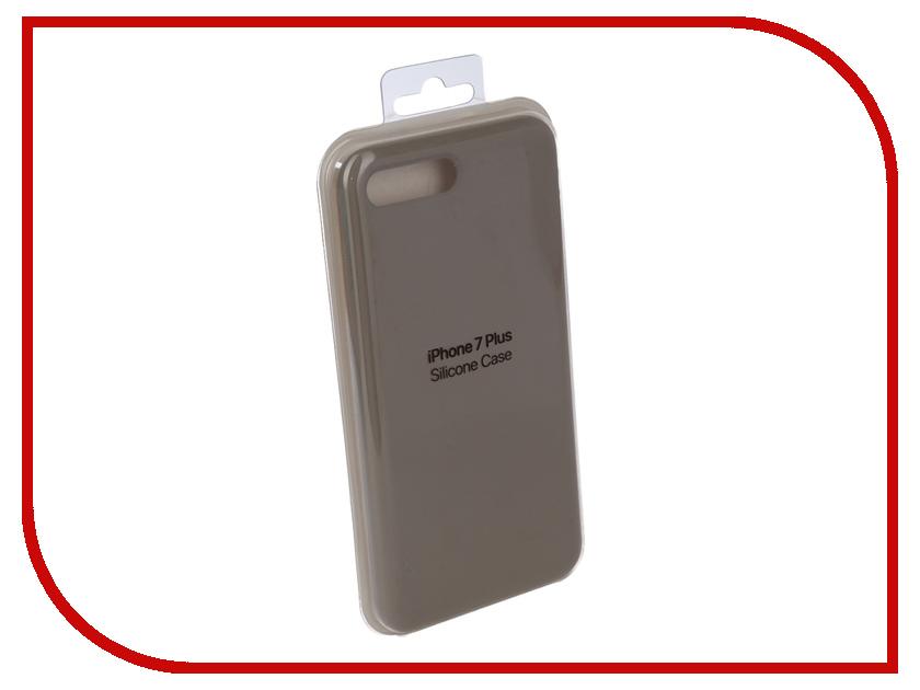 Купить Аксессуар Чехол для APPLE iPhone 7 Plus / 8 Plus Innovation Silicone Case Grey 10278
