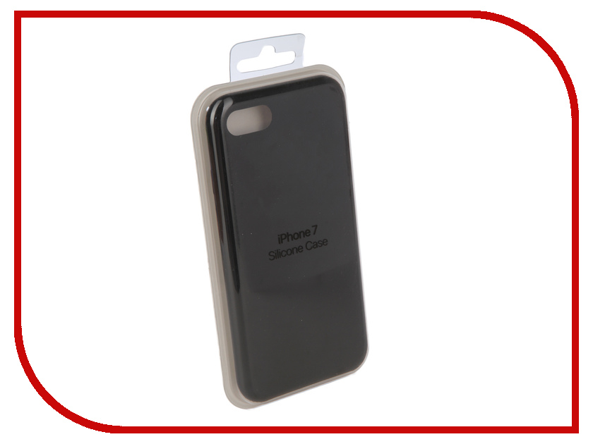 Купить Аксессуар Чехол для APPLE iPhone 7 / 8 Innovation Silicone Case Black 10294