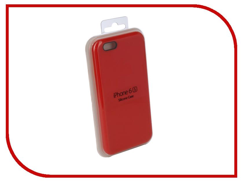 Купить Аксессуар Чехол для APPLE iPhone 6 / 6S Innovation Silicone Case Red 10262