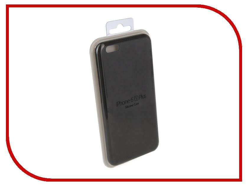 Купить Аксессуар Чехол для APPLE iPhone 6 / 6S Innovation Silicone Case Plus Black 10253