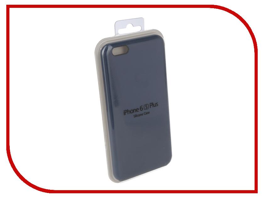 Купить Аксессуар Чехол для APPLE iPhone 6 Plus / 6S Plus Innovation Silicone Case Blue 10622