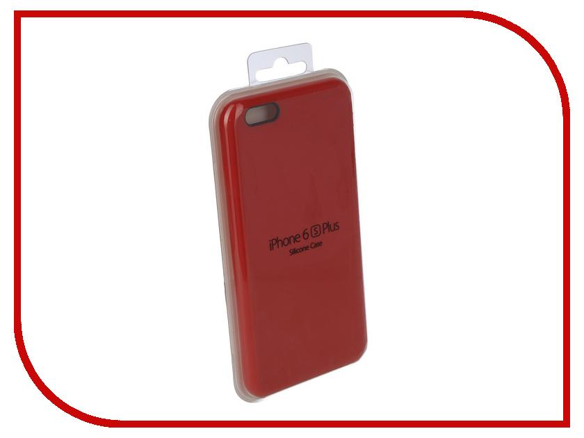 Купить Аксессуар Чехол для APPLE iPhone 6/6S Plus Innovation Silicone Case Red 10250