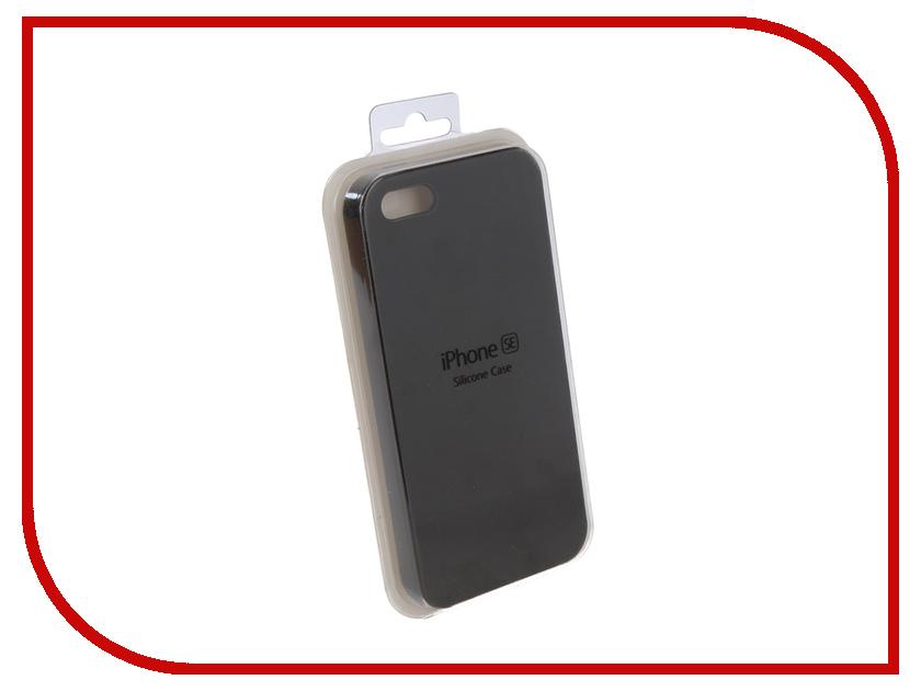 Купить Аксессуар Чехол для APPLE iPhone 5G / 5S / 5SE Innovation Silicone Case Black 10242