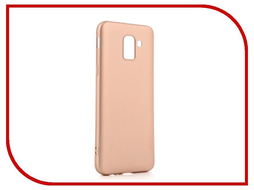 Купить Аксессуар Чехол для Samsung Galaxy J6 2018 X-Level Guardian Gold 2828-159