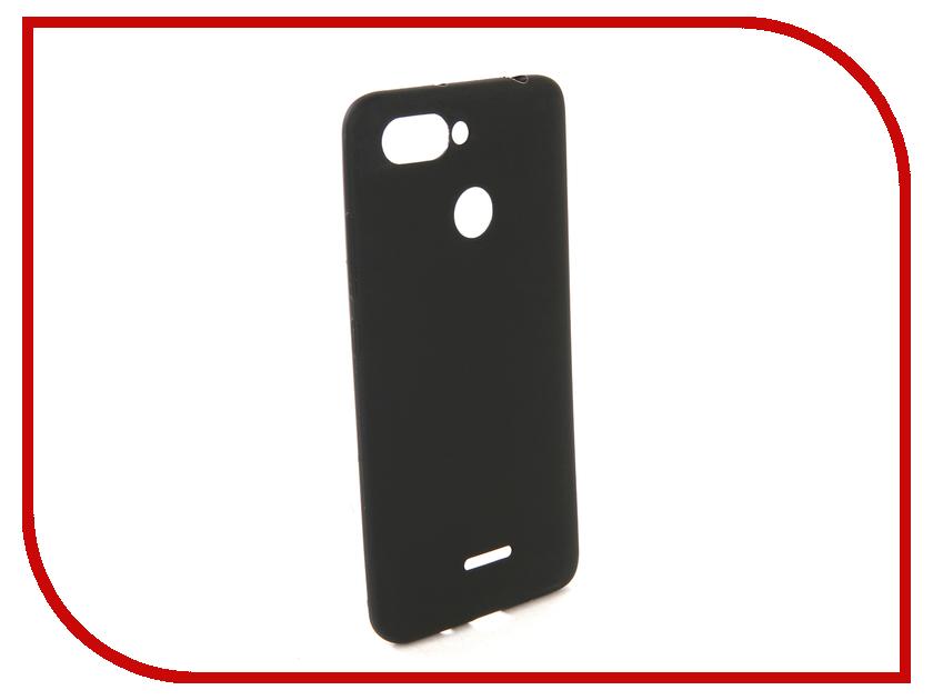 Купить Аксессуар Чехол для Xiaomi Redmi 6 Zibelino Soft Matte Black ZSM-XIA-6-BLK