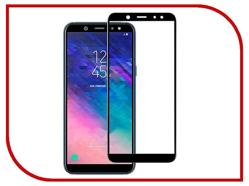 Купить Аксессуар Защитное стекло для Samsung Galaxy A6 Plus 2018 Snoogy Full Glass 0.33mm Black Sn-TG-FG-SA6plus/2018/-blk