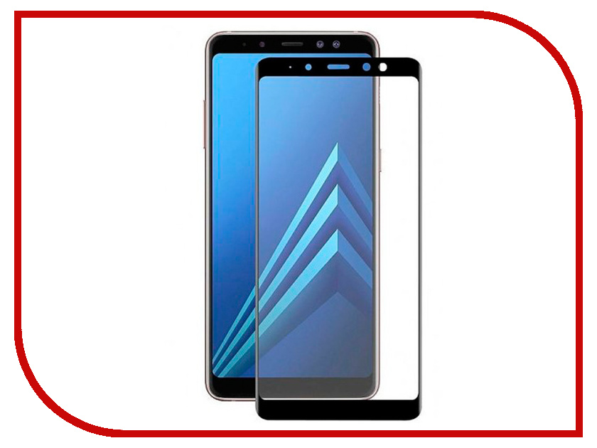 Купить Аксессуар Защитное стекло для Samsung Galaxy A7 2018 / А8 Plus Snoogy Full Glass 0.33mm Black Sn-TG-FG-SA7/2018/А8plus -blk