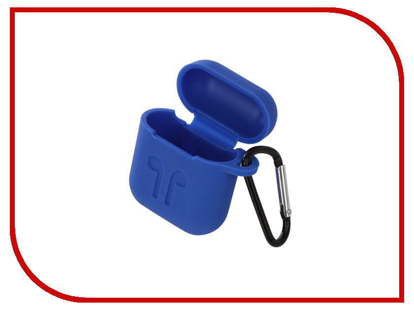 Купить Аксессуар Чехол Gurdini Soft Touch Silicone для APPLE Airpods Blue 906250