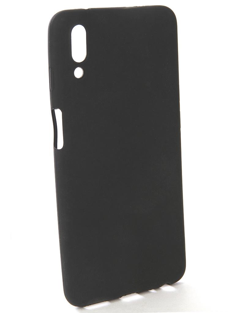 держатель Аксессуар Чехол-накладка Gecko для Meizu E3 Silicone Black S-GESKA-MEIZU-E3-BL