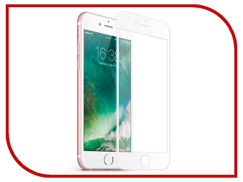 Купить Аксессуар Защитное стекло для APPLE iPhone 7 Innovation 2D Full Glue Cover White 12326