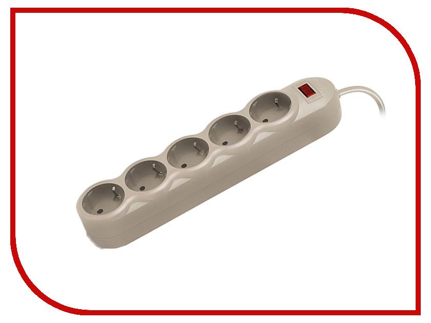 Купить Сетевой фильтр Sven SF-05L 5 Sockets 5m Grey SV-015114