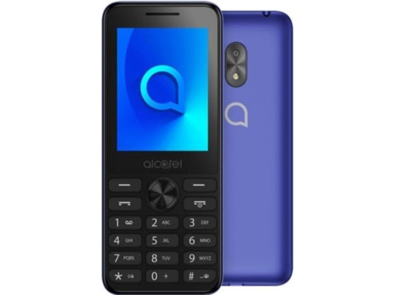 Сотовый телефон Alcatel 2003D Metallic Blue мобильный телефон alcatel 2003d dark grey