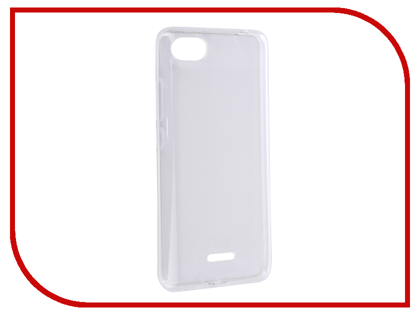 Купить Аксессуар Чехол для Xiaomi Redmi 6A Svekla Silicone Transparent SV-XIRMI6A-WH
