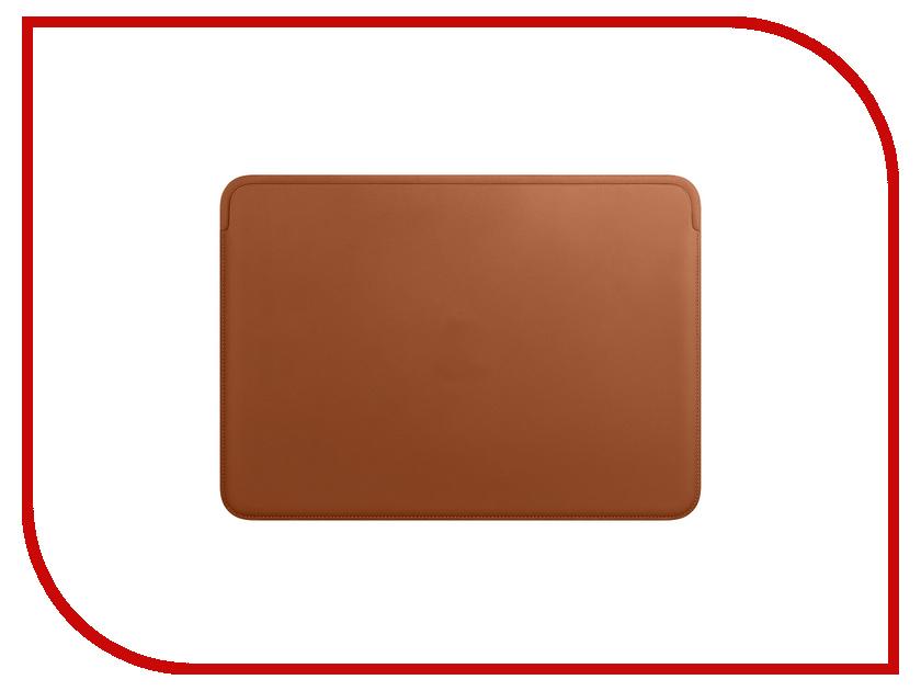 Купить Аксессуар Чехол APPLE Leather Sleeve для MacBook Pro 13-inch Saddle Brown MRQM2ZM/A